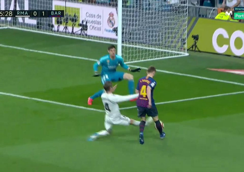 Gol Rakitic Real Madrid Barça