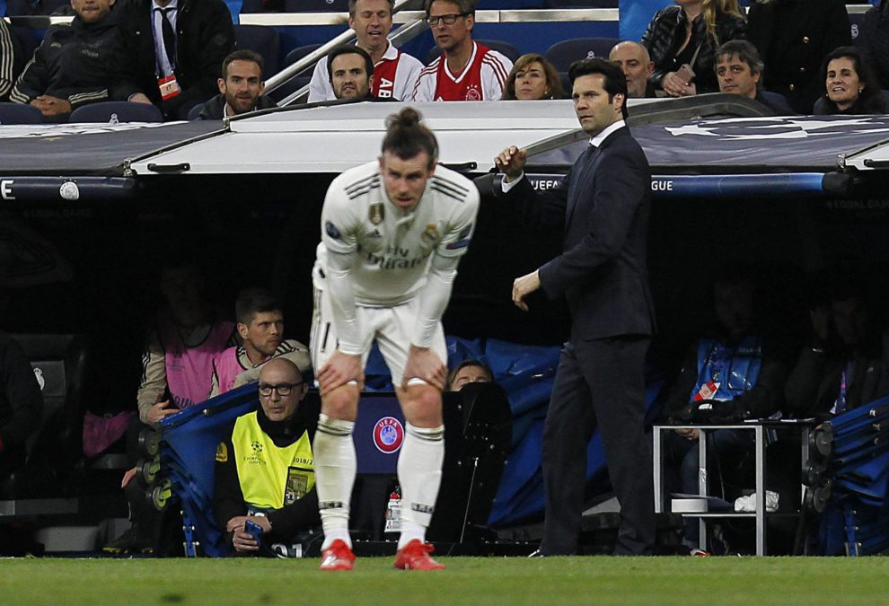 Bale Solari Real Madrid Ajax