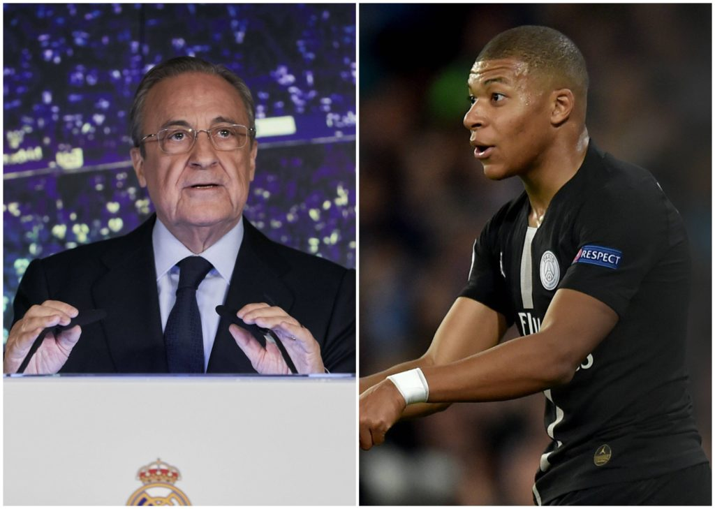 Mbappé Florentino Real Madrid