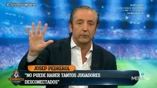 Pedrerol Real Madrid Ajax el chiringuito