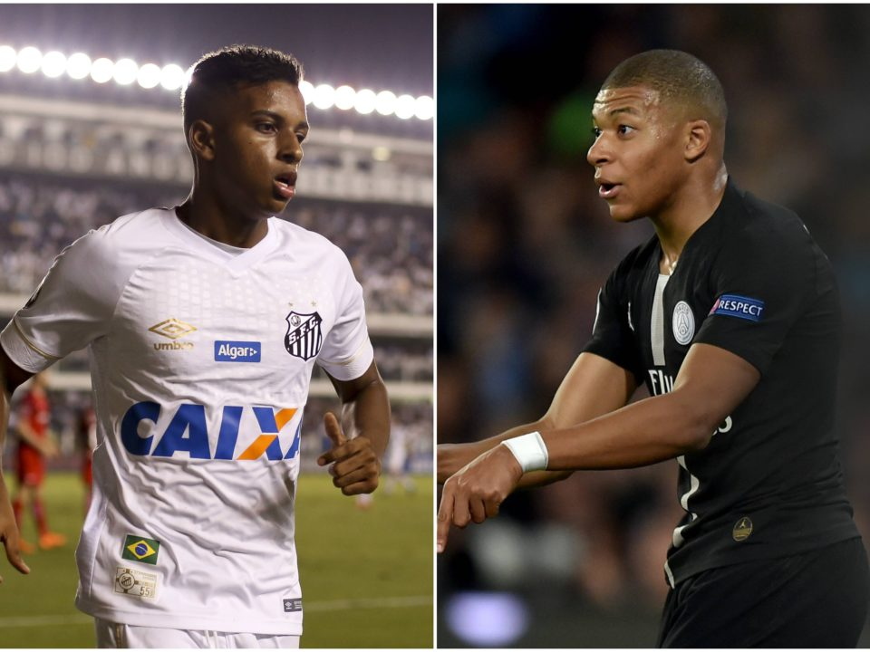 Rodrygo Mbappe Real Madrid