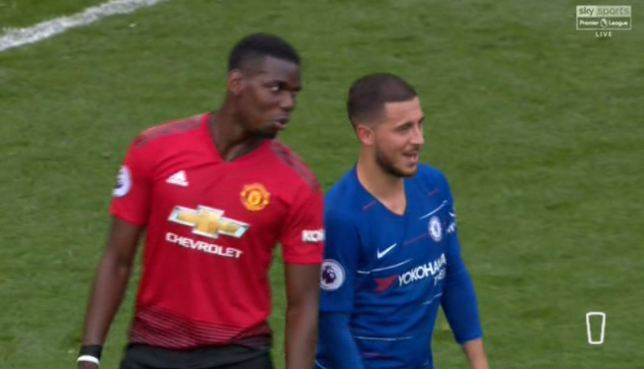 Hazard Pogba Real Madrid