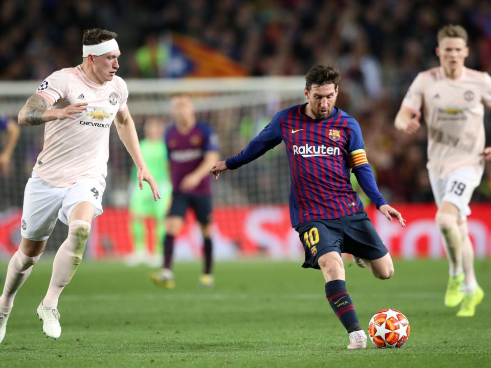 Messi Phil Jones