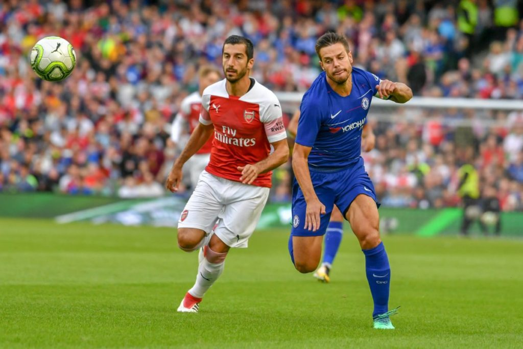 Mkhitaryan Europa League Chelsea Arsenal