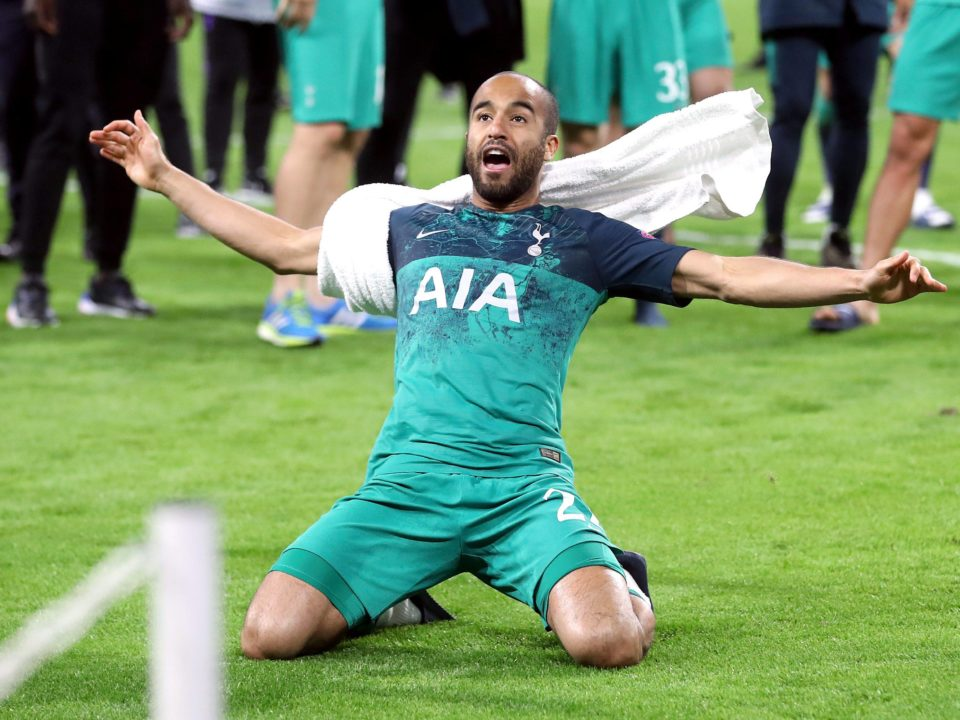 Lucas Moura Champions
