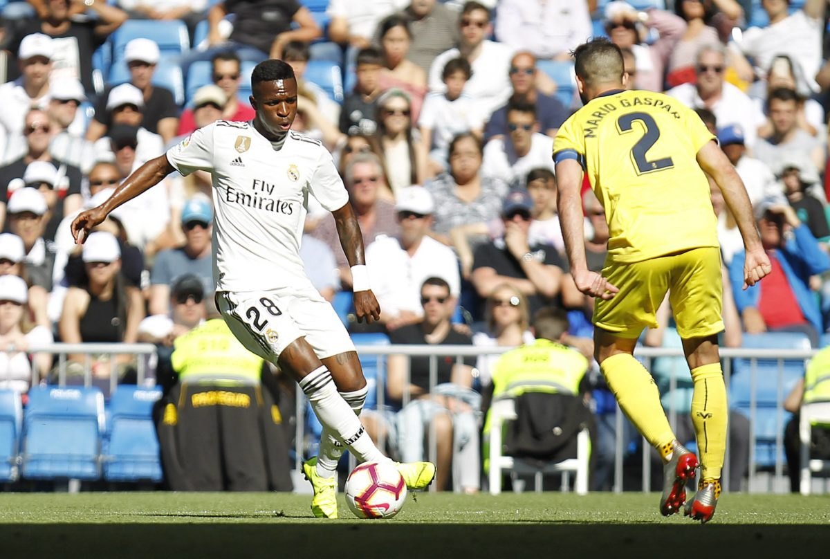 Vinicius Real Madrid Villarreal