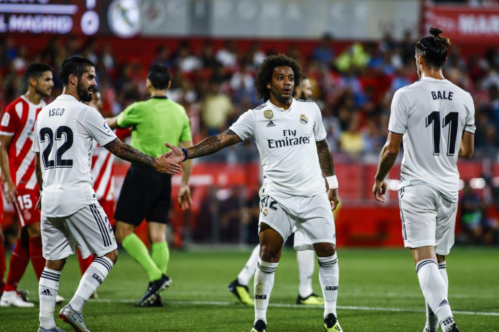 Isco Marcelo Bale Real Madrid
