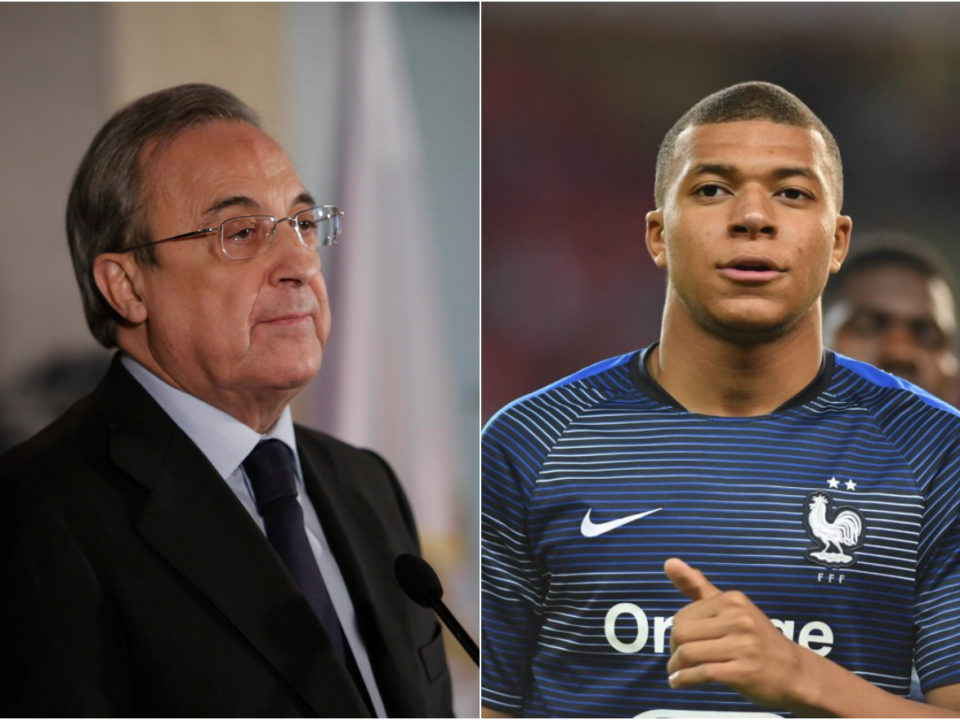 Mbappé Real Madrid Florentino