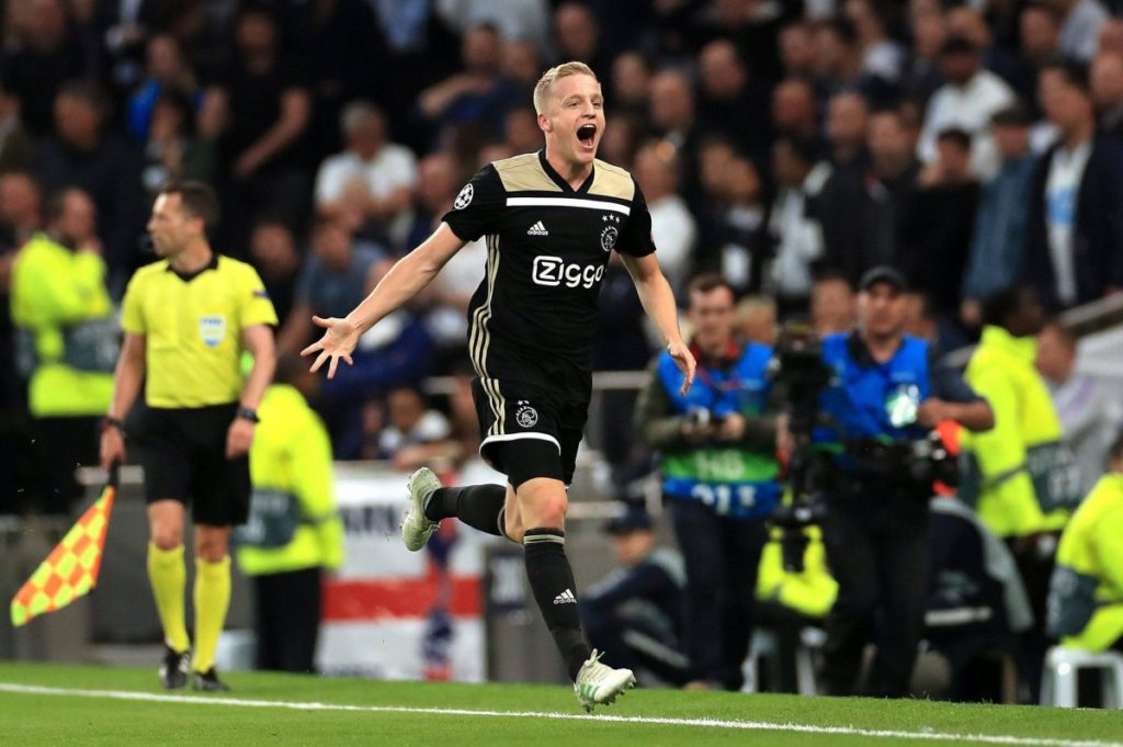 Van de Beek real madrid