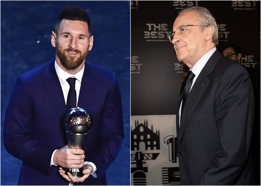 Messi Florentino Pérez The Best