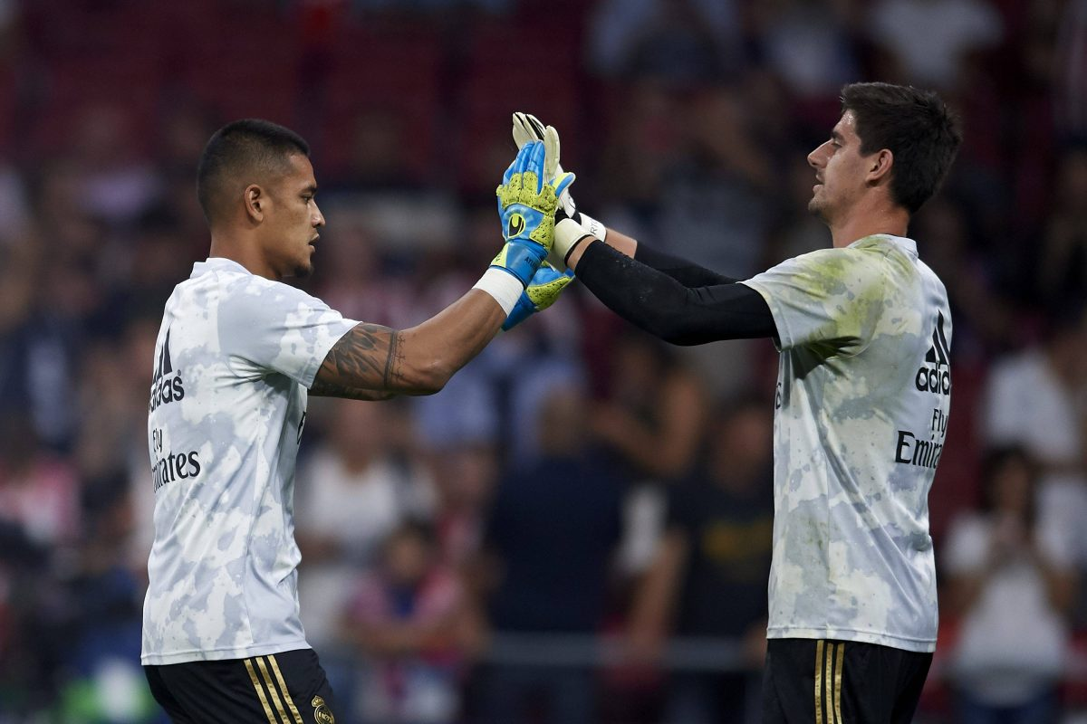 Areola Courtois Real Madrid