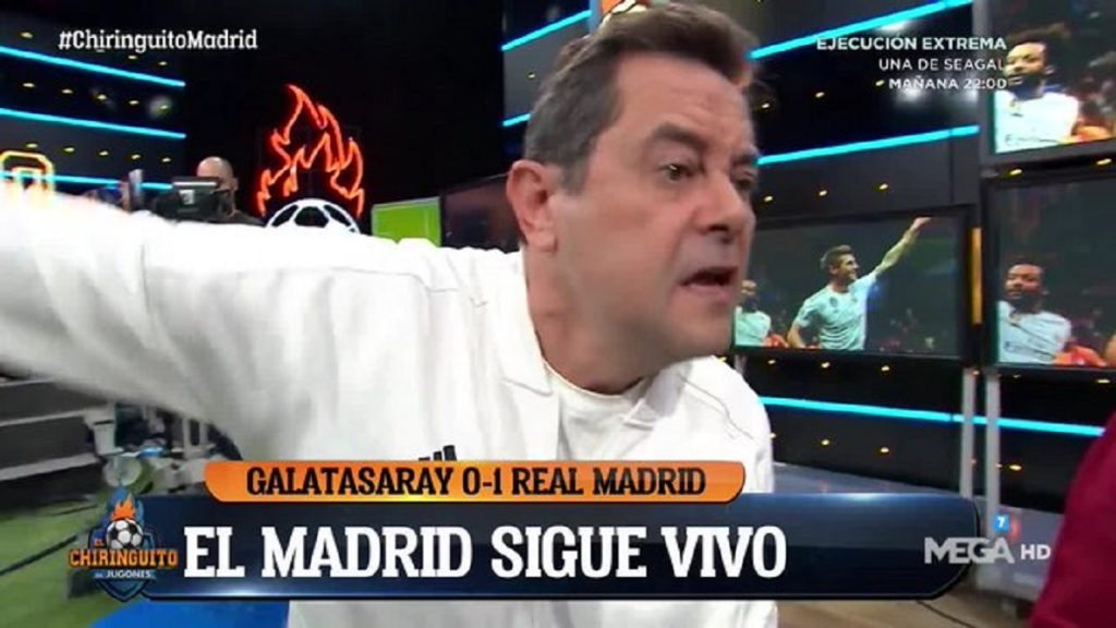 Roncero El Chiringuito Galatasaray Real Madrid