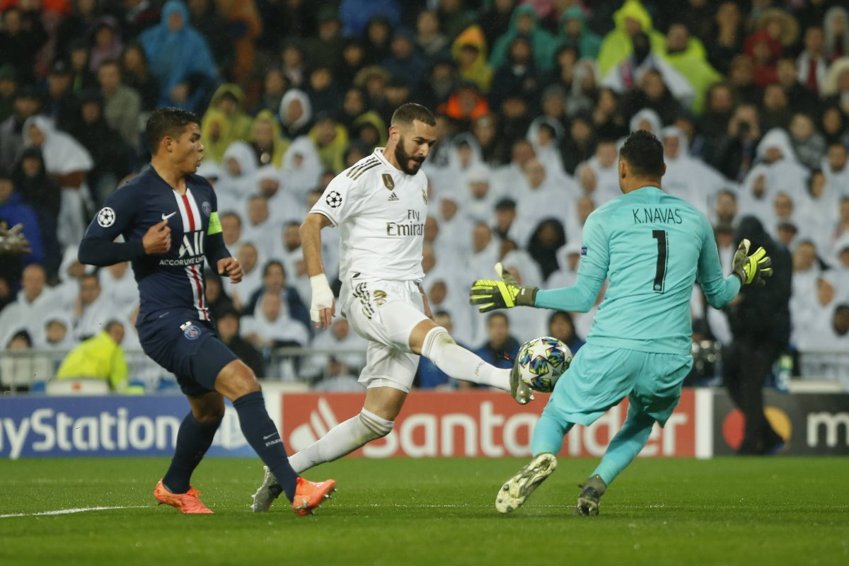 Keylor Benzema Real Madrid PSG