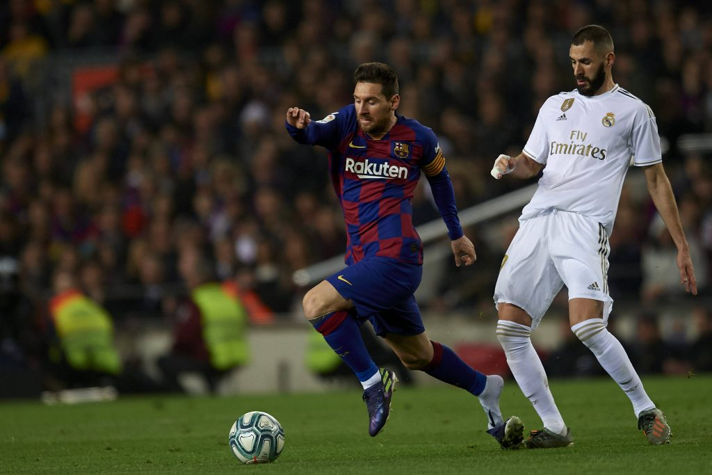 Barça Real Madrid Messi Benzema