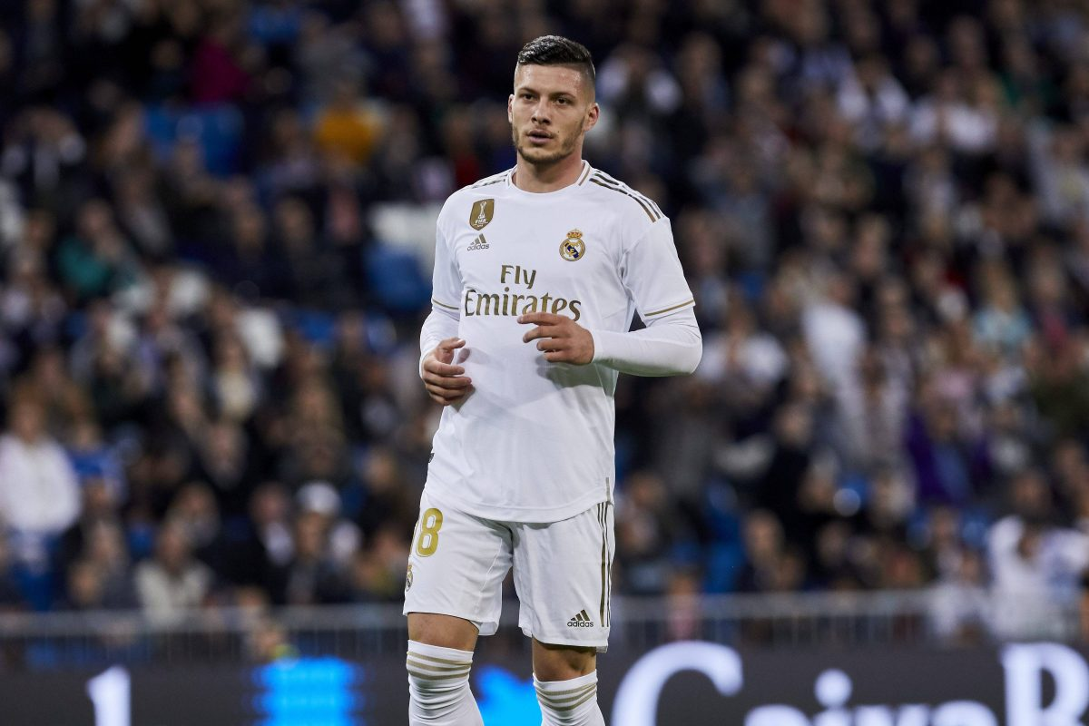 Luka Jovic Real Madrid