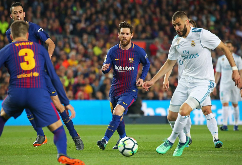 Messi Benzema Barcelona Real Madrid