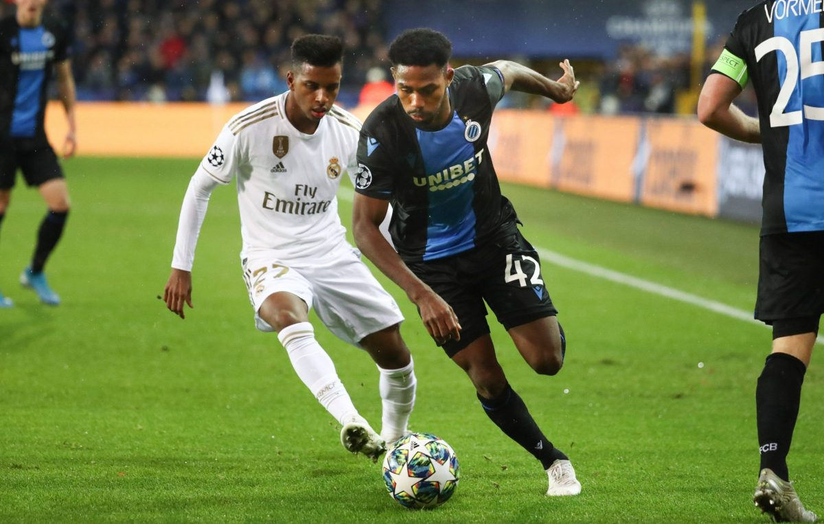 Rodrygo Brujas Real Madrid