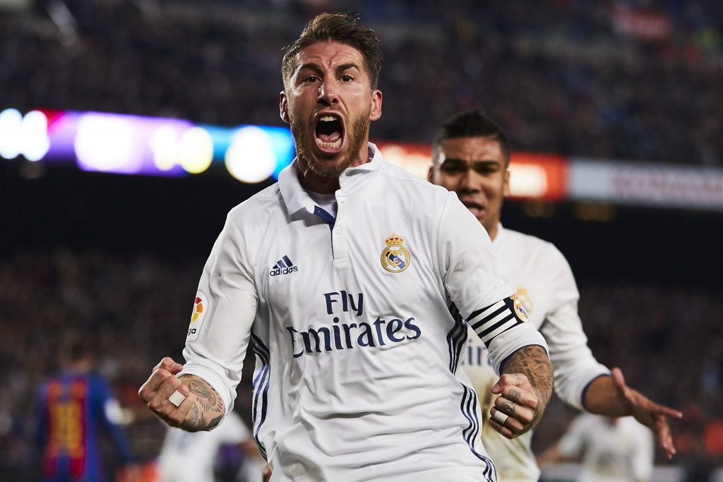 Sergio Ramos Real Madrid Barcelona