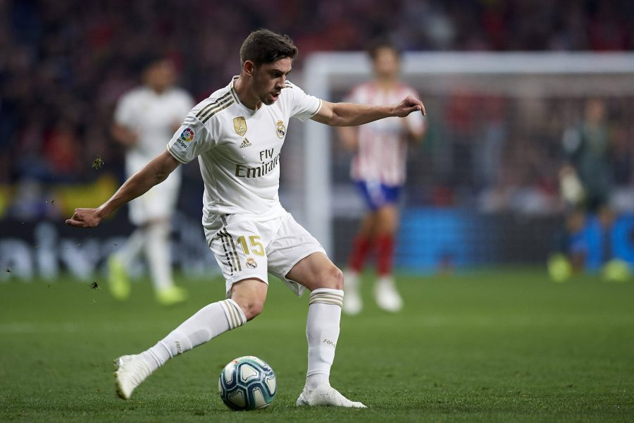 Fede Valverde Real Madrid Atletico