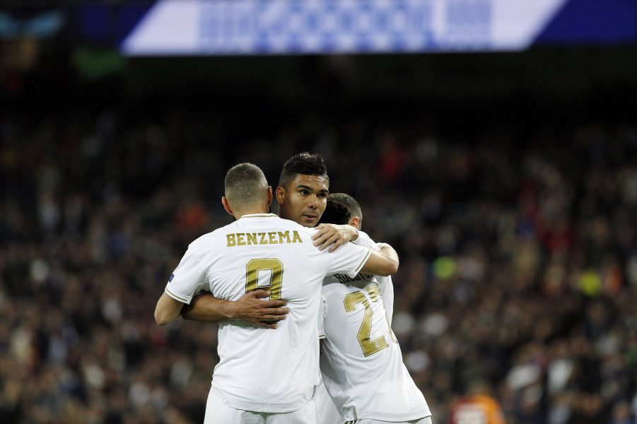 Real Madrid Benzema Casemiro