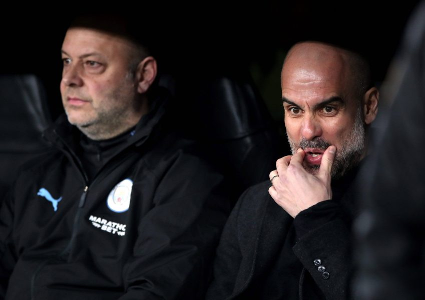 Guardiola Real Madrid Manchester City