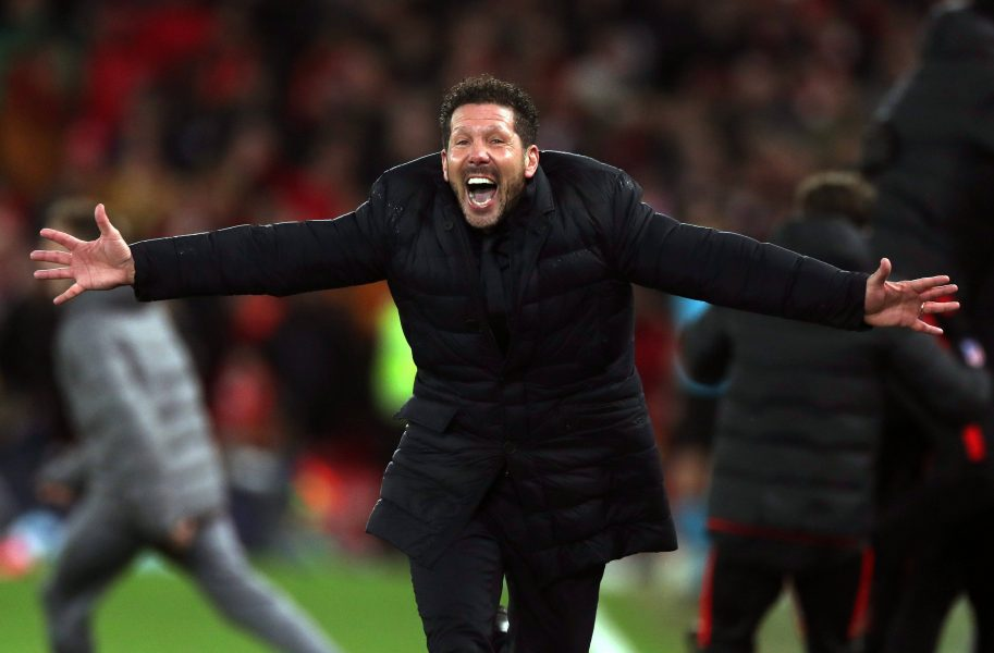 Simeone Liverpool Atletico
