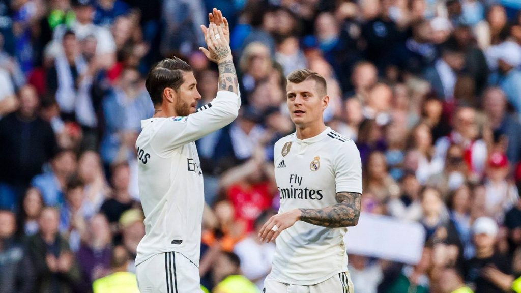 Kroos Sergio Ramos Real Madrid