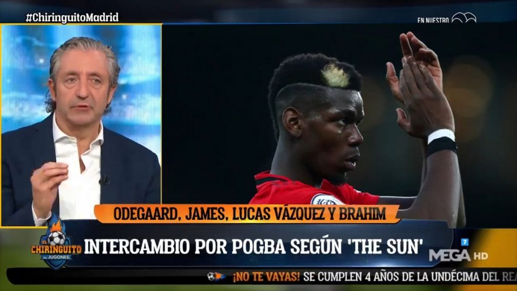 Pedrerol Pogba Real Madrid