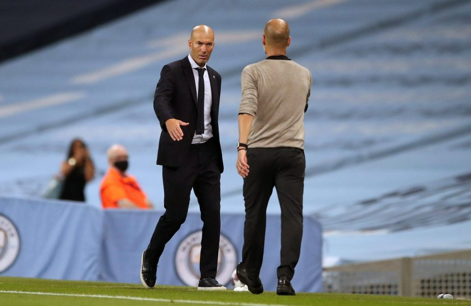Zidane Guardiola Manchester City Real Madrid
