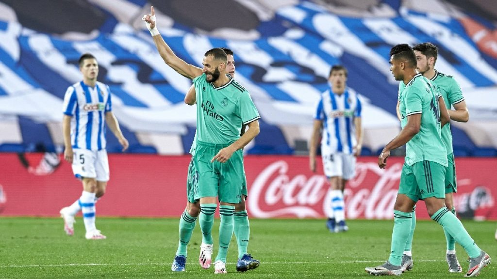 Benzema Real Madrid Real Sociedad