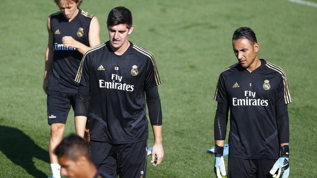 Keylor Navas Courtois Real Madrid