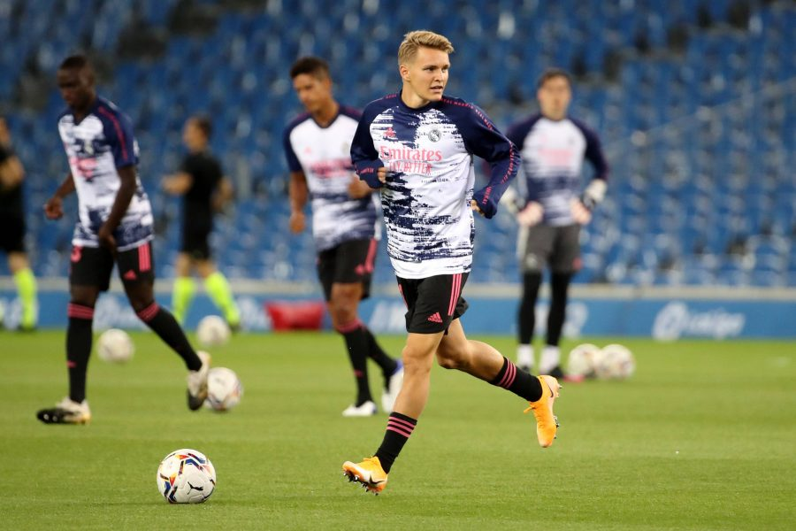 Odegaard Real Madrid