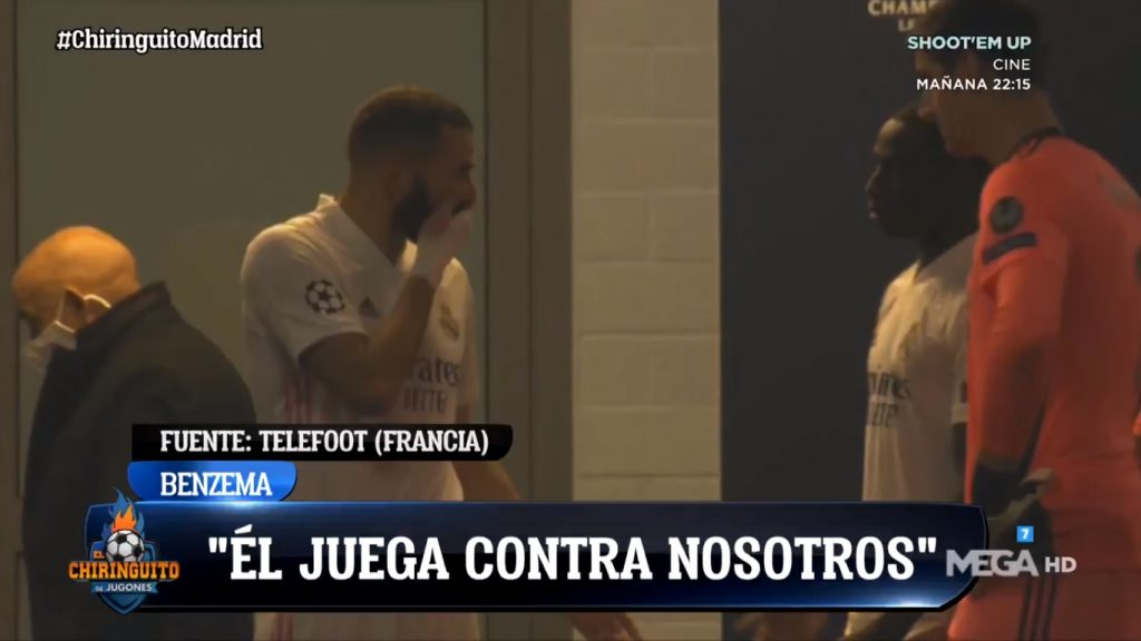 Benzema Vinicius Mendy video