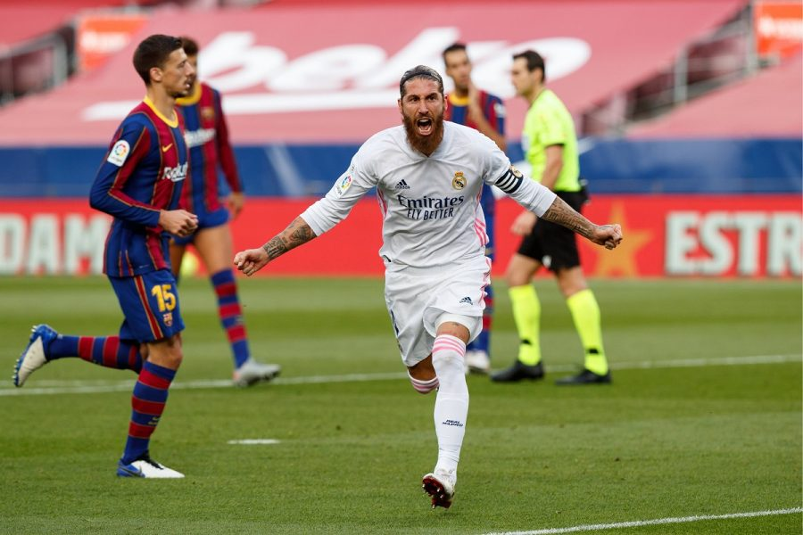 Gol Sergio Ramos Barcelona Real Madrid