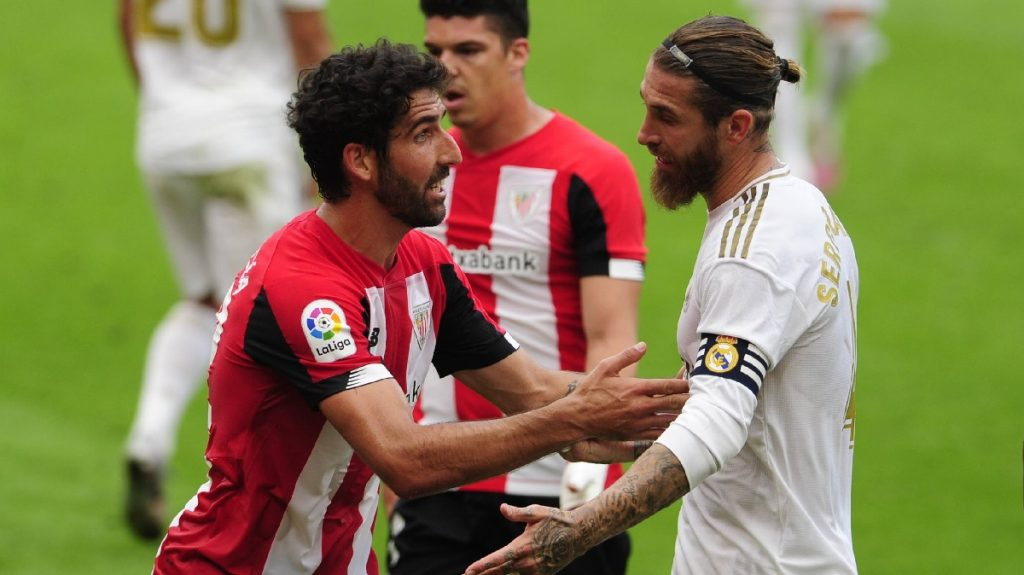 Real Madrid Athletic Liga Raul Garcia Sergio Ramos